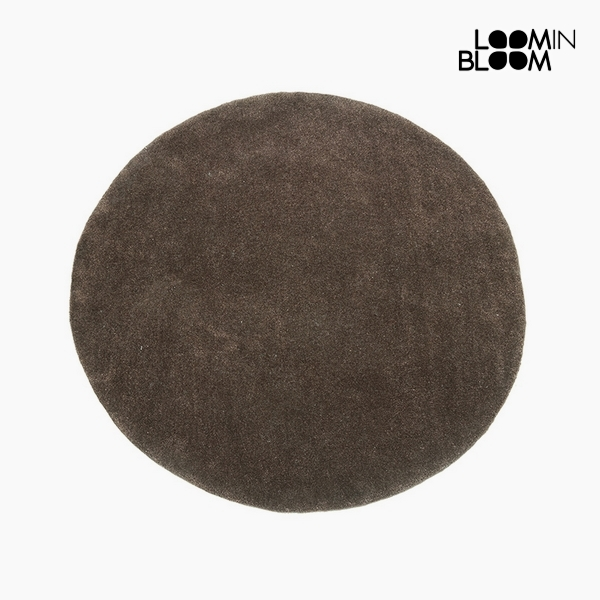 Carpet Acrylic Brown (90 x 90 x 3 cm) by Loom In Bloom