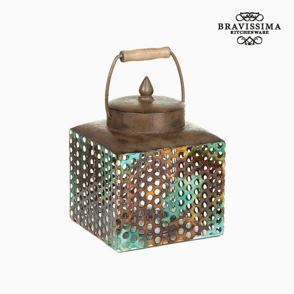 Box with cover Iron (20 x 19 x 25 cm) by Homania
