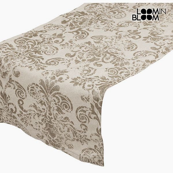Table Runner Beige (135 x 40 cm) - Cities Collection by Loom In Bloom