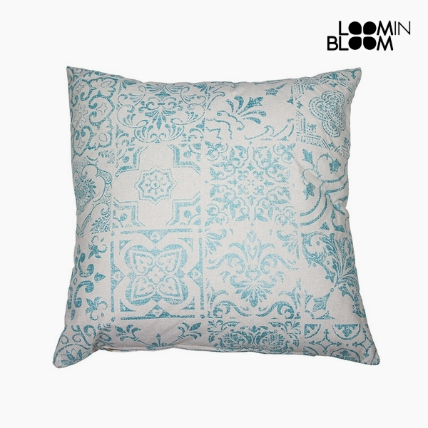 Cushion Cotton and polyester (45 x 10 x 45 cm) by Loom In Bloom