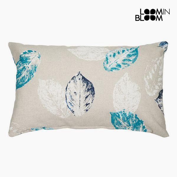 Cushion Blue (30 x 10 x 50 cm) - Cities Collection by Loom In Bloom
