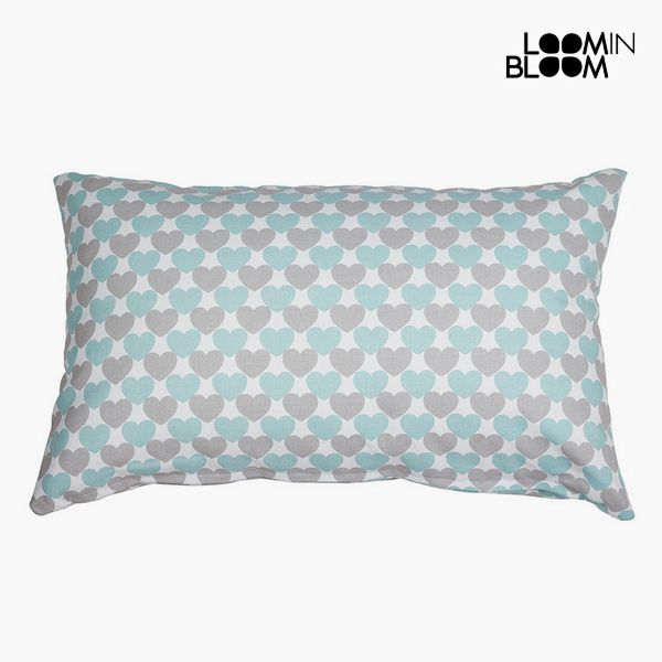 Cushion Grey Turquoise (30 x 10 x 50 cm) - Little Gala Collection by Loom In Bloom