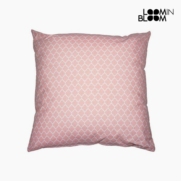 Cushion Pink (60 x 10 x 60 cm) - Cities Collection by Loom In Bloom