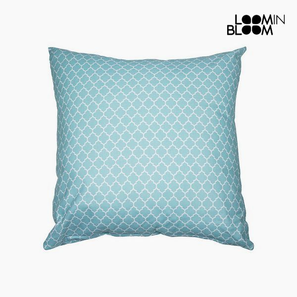 Cushion (45 x 10 x 45 cm) - Cities Collection by Loom In Bloom