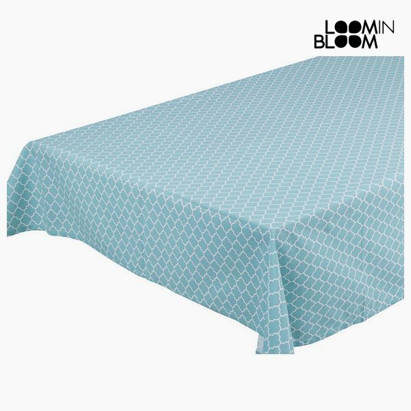 Tablecloth Blue - Cities Collection by Loom In Bloom