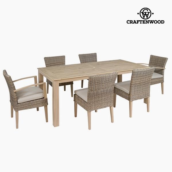Garden furniture Resin (200 x 102 x 86 cm) by Craftenwood