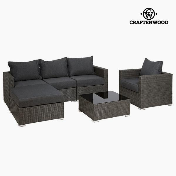 Garden furniture (6 pcs) by Craftenwood