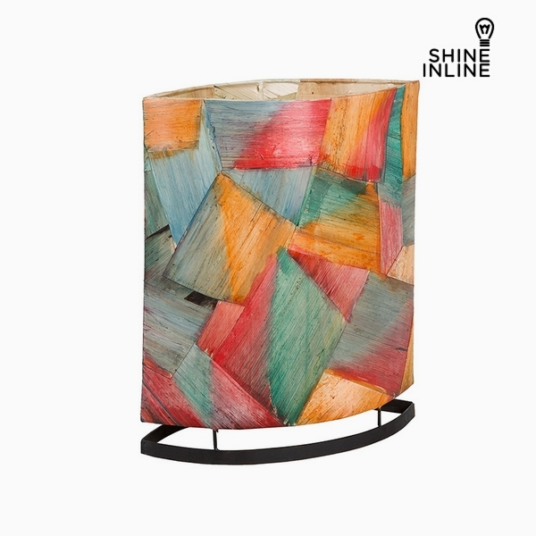 Desk Lamp Multicolour Banana leaf (14 x 29 x 35 cm) by Shine Inline