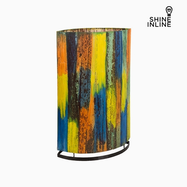 Lamp Multicolour Banana leaf (19 x 34 x 54 cm) by Shine Inline