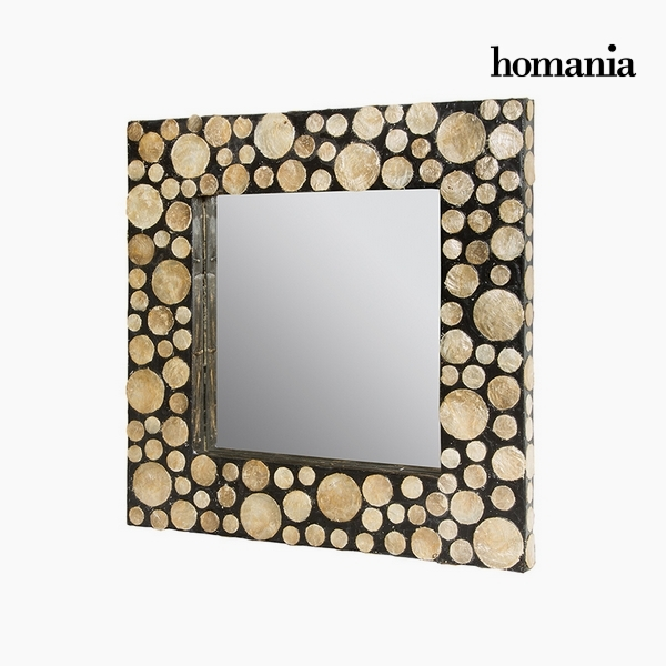 Mirror Mother of pearl (54 x 4 x 54 cm) by Homania