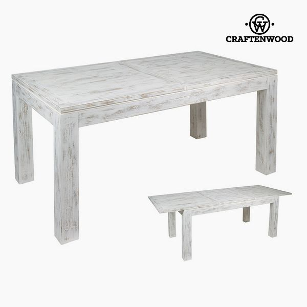 Expandable table Mindi wood (160 x 90 x 78 cm) by Craftenwood