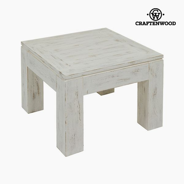 Side Table Mindi wood (60 x 60 x 40 cm) - Winter Collection by Craftenwood