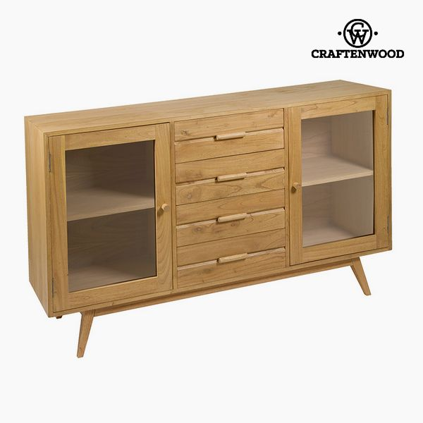 Sideboard Mindi wood (150 x 40 x 89 cm) - Modern Collection by Craftenwood