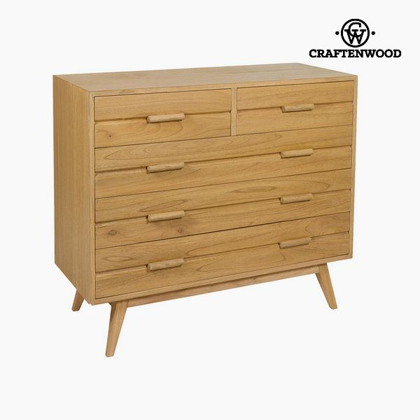 Chest of drawers Mindi wood (100 x 40 x 86 cm) - Chocolate Collection by Craftenwood