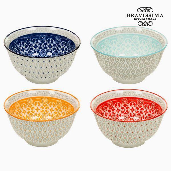 Set of bowls (4 pcs) - Queen Kitchen Collection by Bravissima Kitchen