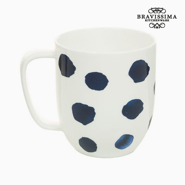Cup Porcelain Mouse Blue - Kitchen's Deco Collection by Bravissima Kitchen