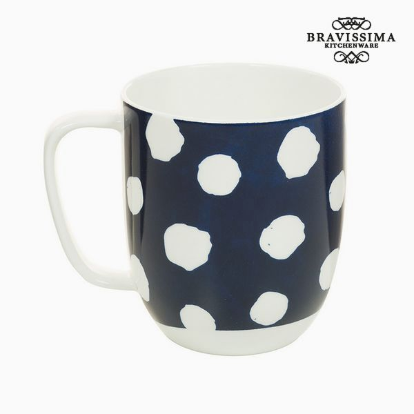 Cup Porcelain Mouse White - Kitchen's Deco Collection by Bravissima Kitchen