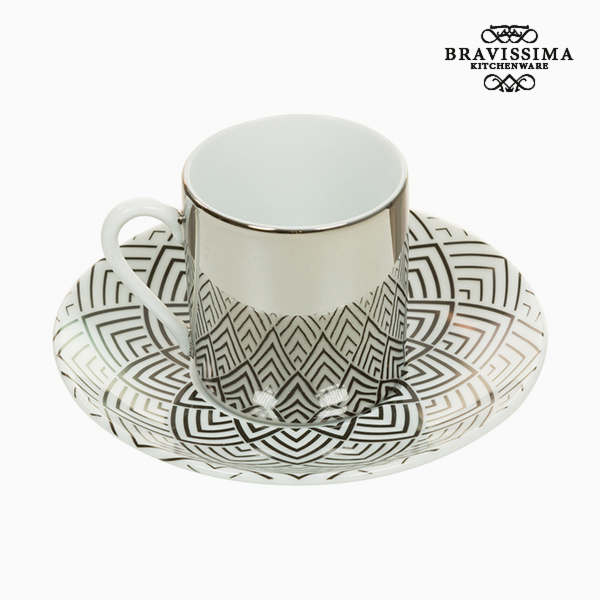 Cup with Plate Magic Porcelain Sheets - Kitchen's Deco Collection by Bravissima Kitchen