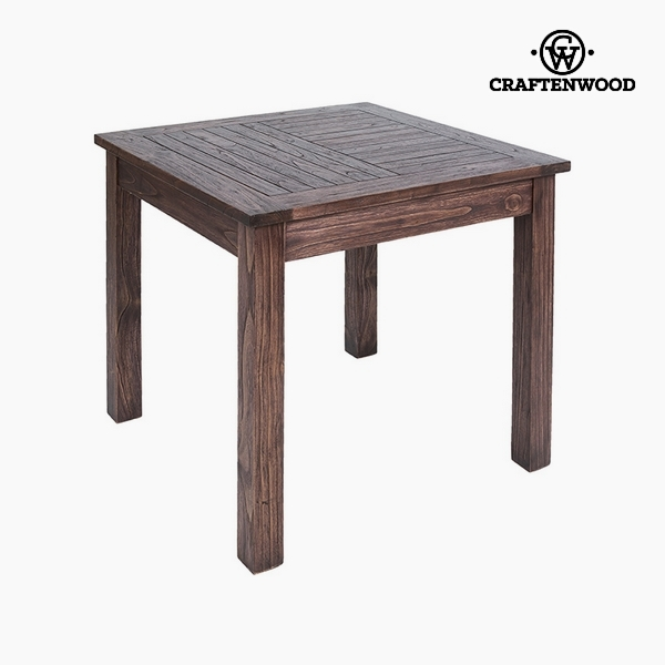Table Mindi wood (90 x 90 x 78 cm) by Craftenwood