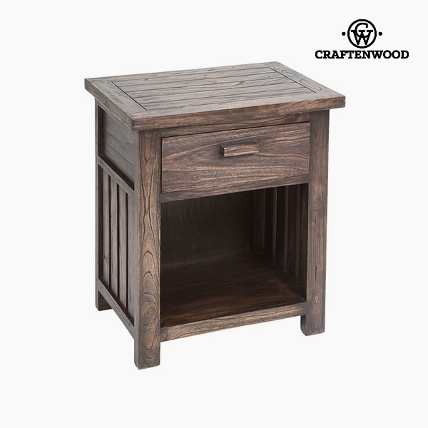 Nightstand (1 drawer) Mindi wood (50 x 35 x 55 cm) by Craftenwood