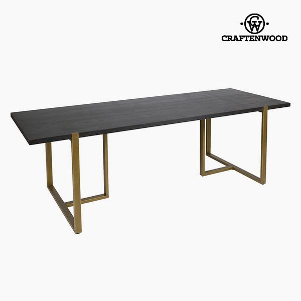 Dining Table Oak wood Mdf (240 x 90 x 75 cm) by Craftenwood
