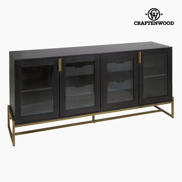 Sideboard Oak wood Mdf (184 X 45 X 84 cm) - Serious Line Collection by Craftenwood