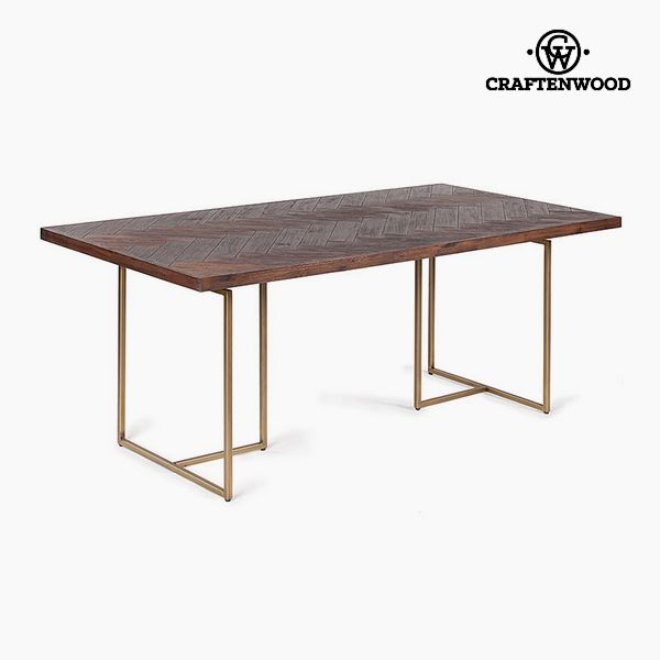 Dining Table Acacia Mdf (180 x 90 x 75 cm) by Craftenwood