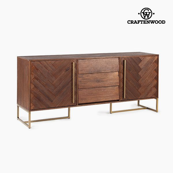 Sideboard Acacia Mdf (180 x 45 x 80 cm) - Serious Line Collection by Craftenwood