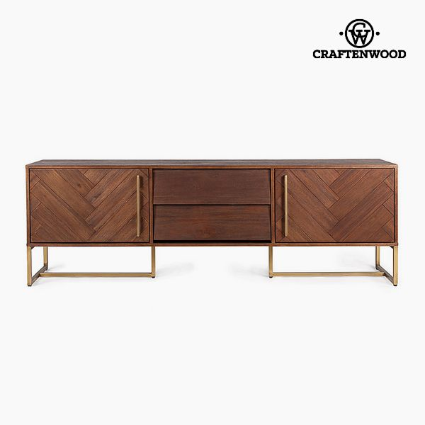 Television Table Mdf Acacia (180 x 45 x 60 cm) by Craftenwood