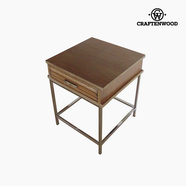 Nightstand Teak (45 x 45 x 55 cm) by Craftenwood