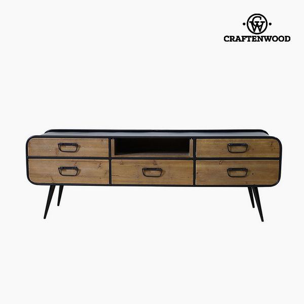 Television Table Fir wood Mdf (150 x 40 x 52 cm) by Craftenwood