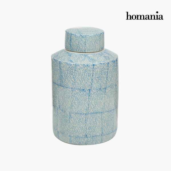 Tibor Stoneware Blue (20 x 20 x 32,5 cm) by Homania
