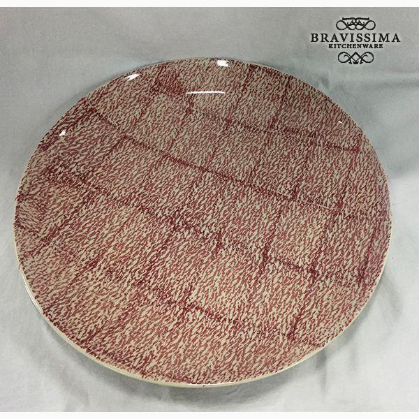 Deep Plate Stoneware (37 x 37 x 4 cm) by Bravissima Kitchen