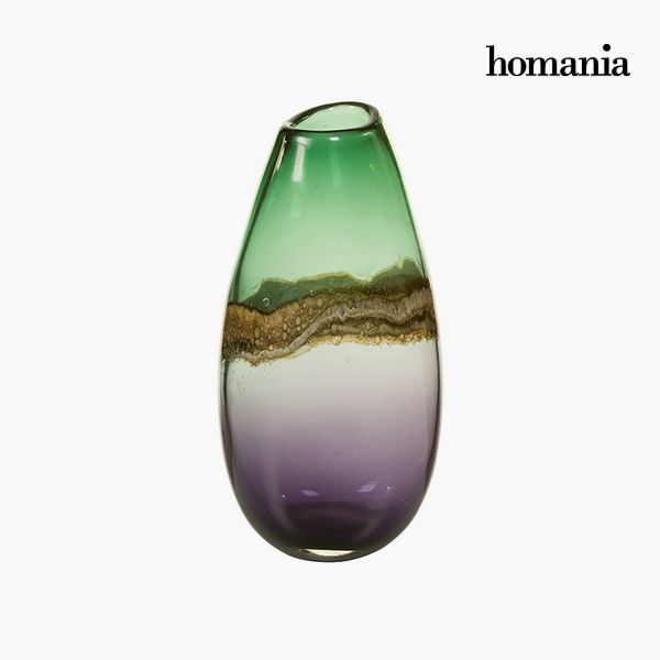 Vase Crystal (15 x 13 x 30 cm) - Pure Crystal Deco Collection by Homania