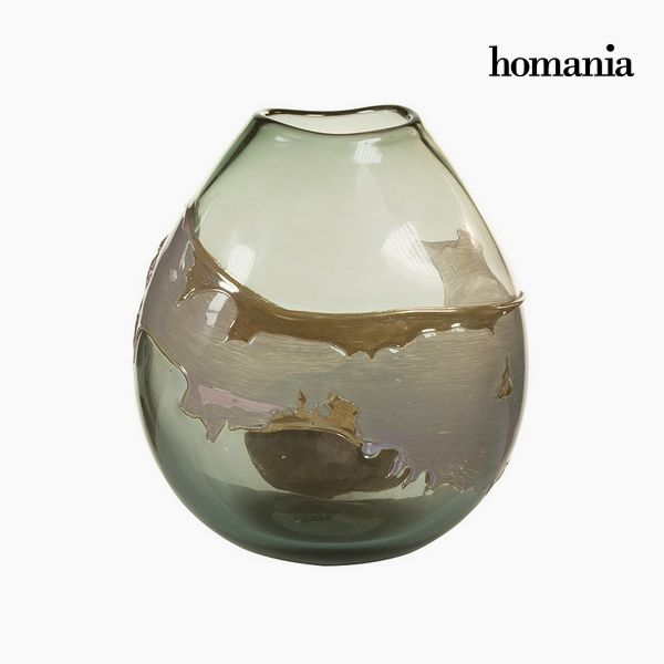 Vase Crystal (24 x 15 x 26 cm) - Pure Crystal Deco Collection by Homania