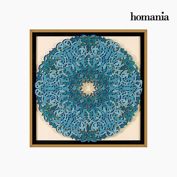 Acrylic Painting (92 x 4 x 92 cm) by Homania