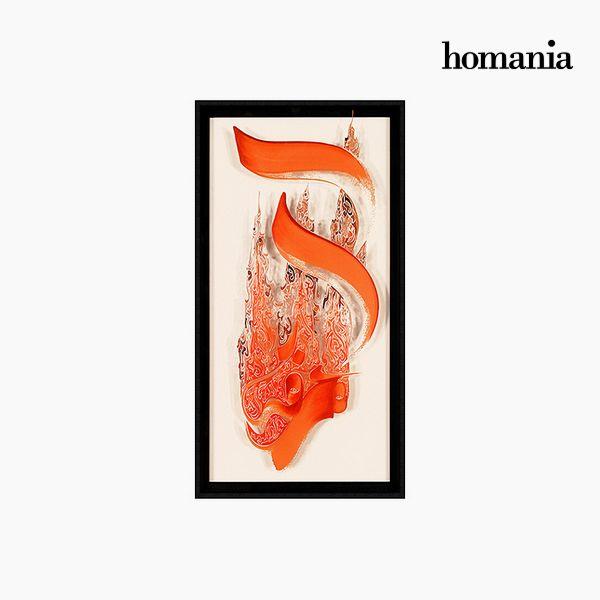 Acrylic Painting (62 x 4 x 122 cm) by Homania
