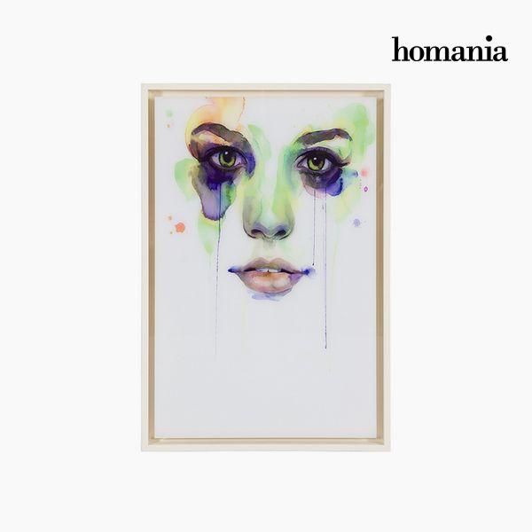 Acrylic Painting (42 x 4 x 62 cm) by Homania