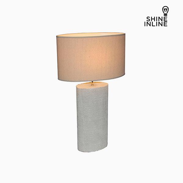 Desk Lamp Cream (50 x 26 x 71 cm) by Shine Inline