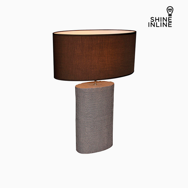 Desk Lamp Brown (50 x 26 x 71 cm) by Shine Inline