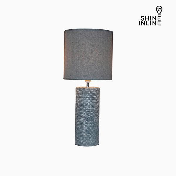 Desk Lamp Grey (29 x 29 x 70 cm) by Shine Inline