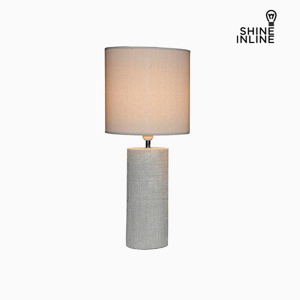 Desk Lamp Cream (29 x 29 x 70 cm) by Shine Inline