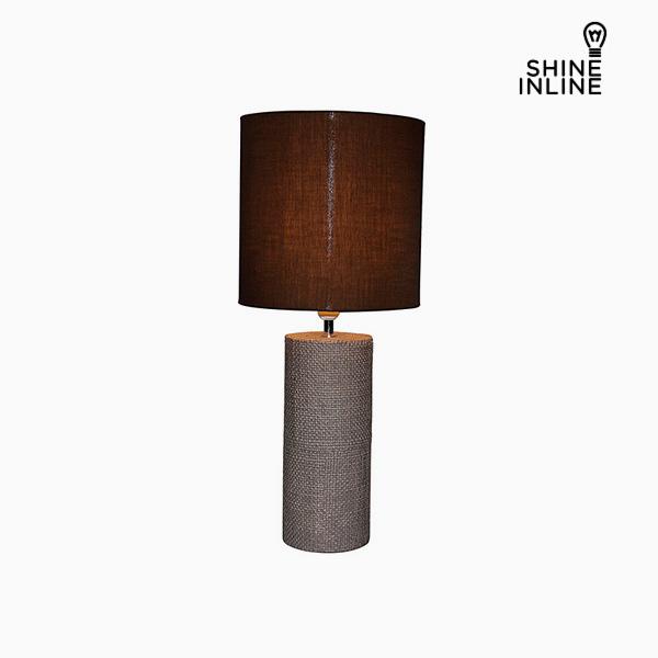 Desk Lamp Brown (29 x 29 x 70 cm) by Shine Inline