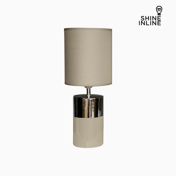 Desk Lamp Brown (19 x 19 x 48 cm) by Shine Inline