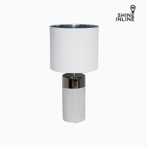 Desk Lamp White (30 x 30 x 62 cm) by Shine Inline