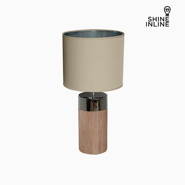 Desk Lamp Brown (30 x 30 x 62 cm) by Shine Inline