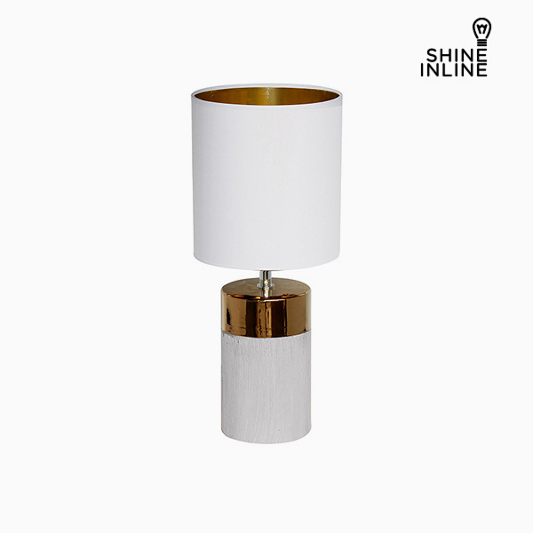 Desk Lamp White (19 x 19 x 48 cm) by Shine Inline