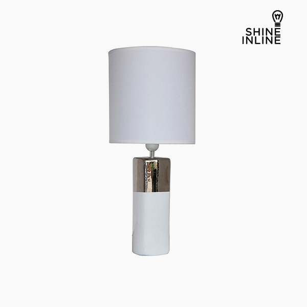 Desk Lamp White (24 x 24 x 57 cm) by Shine Inline
