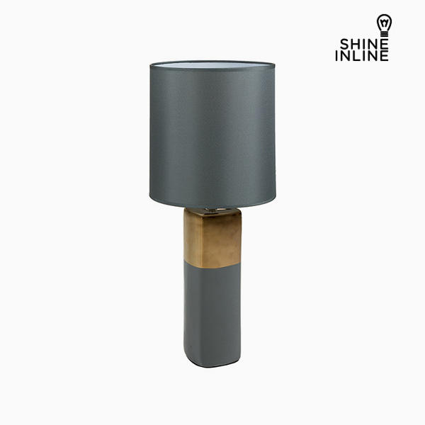 Desk Lamp Grey (24 x 24 x 57 cm) by Shine Inline