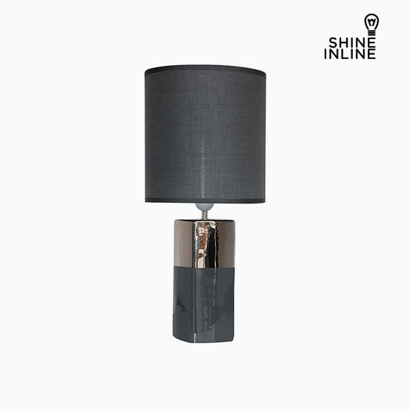 Desk Lamp Grey (24 x 24 x 54 cm) by Shine Inline